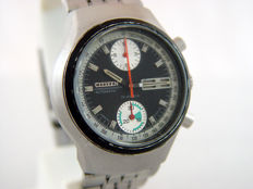 Citizen — Vintage High Beat Fly-back Chronograph — 67-9038 — Men — 1970-1979