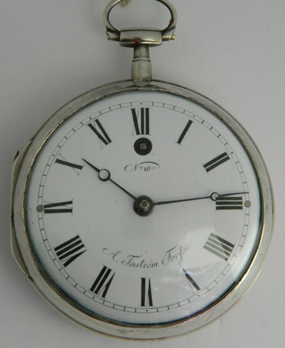 A, Tastrom, Forfsa - pocket watch with cylinder escapement
