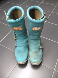 RG - Motocross vintage boots - 1980s