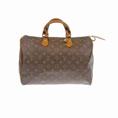 Louis Vuitton – Monogram Speedy 35 handbag.