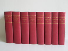 Georges Ohnet - 24 books in 8 volumes  - late 19th century