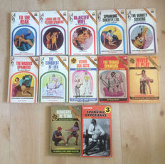 Spanking; Lot with 12 American spanking publications-1971/1976