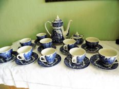 English Ironstone tableware tea set - Dickens series