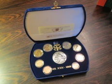 Vatican – 2002 proof divisional coin series (includes silver).