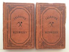 'Jaarboek Mijnwezen' in the Dutch Indies - 2 volumes - 1873
