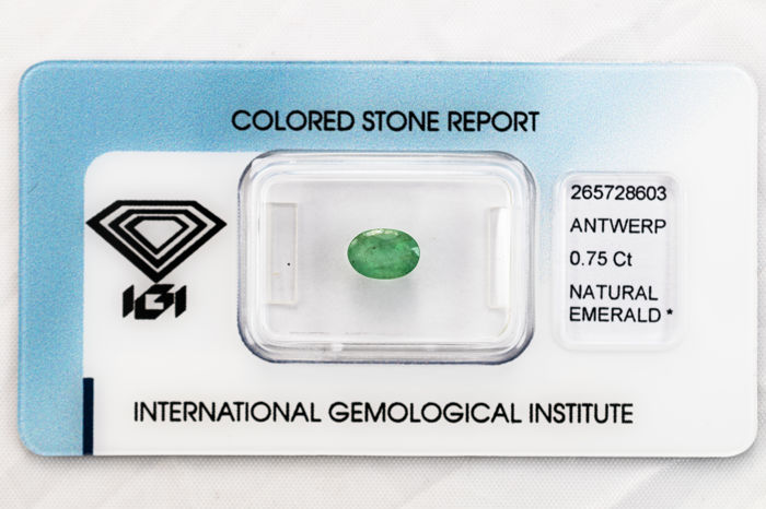 Emerald - 0.75 ct   *** No Reserve ***