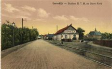 51 x-Netherlands railways stations, electric, steam and horse trams/trains