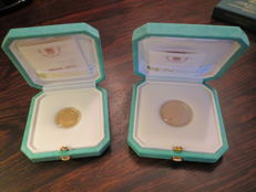 Vatican, 2013 – 20 and 50 euro coins (2 coins) – Pope Francis – Gold.