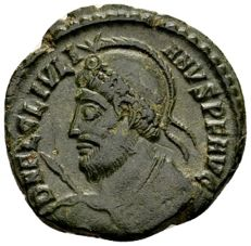 Roman Empire – AE3 of emperor Julianus II (360–363 A.D.), struck in Siscia