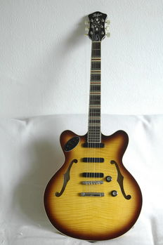 Hofner Verythin Standard-CT Serial number 15720030 Germany 2014