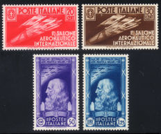 Kingdom of Italy, 1935 – Aeronautics show – Complete series (stamps)