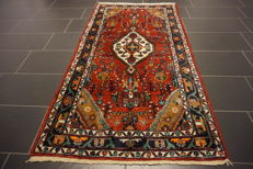 Beautiful hand-knotted Persian carpet - Sarough - made in Iran - natural colours - 100 x 194 cm