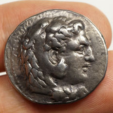 Ancient Greece - Alexander III the Great (~323-317 BC) AR Tetradrachm, BABYLON, M