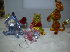 Swarovski - Silver Crystal  Disney serie Winnie the Pooh and Friends