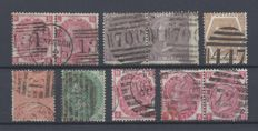 Great Britain 1855/1880 - Queen Victoria, a small lot
