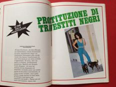 Transsexual/Shemale; 10 vintage Italian magazines - 1982/2002