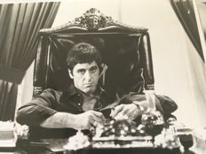 Unknown - Al Pacino and others - 'Scarface' - 1983