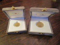 Vatican, 2006 – 20 and 50 euro coins (2 coins) – Pope Benedict XVI – Gold.
