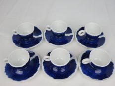 Jan Fabre Illy Collection Rosenthal 2006 - Six espresso cups and saucers