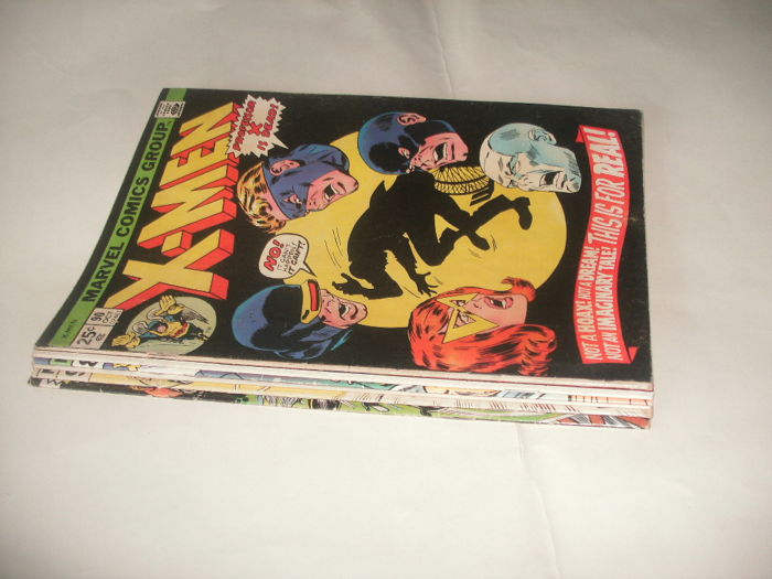 Marvel Comics The Uncanny X-men - Issues 90-93, 96 and 98 - 6x SC(1974/1976)