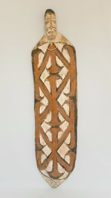 Large Sago board - ASMAT - Papua New Guinea