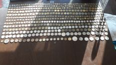 France - Lot of 455 coins including some silver.