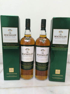 2 bottles - Macallan Select Oak - Highland Scotch Single Whisky - 1000ml