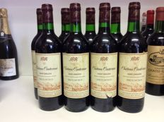 1981 Chateau Canterane Grand Cru, Saint-Emilion, France , 8 bottles 0,75l
