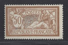 France 1900 - 50 c. Type Merson - Yvert n° 120