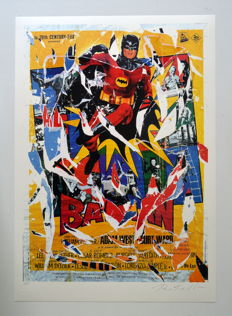 Mimmo Rotella - Batman