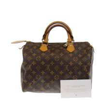 Louis Vuitton – Monogram Speedy 30 – Handbag