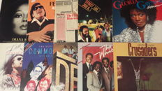 Top collection of  10 fantastic Funk and Soul Album  - Stevie Wonder, Commodores, The Jacksons, Crusaders 2x, Jose Feliciano, 5th Dimension, Gloria Gaynor, Diana Ross & The Whispers