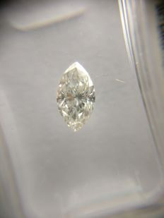 0.66 ct Marquise cut diamond F SI1