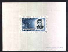 Monaco, 1964. Anniversary of Kennedy, Unificato catalogue no. BFS8