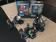 Lot of 13 Metal Gear figures - 2 of them are still boxed.