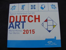Nederland - Jaarset 2015 'WMF Berlijn - Dutch Art' in blister