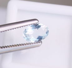 Aquamarine - 1.34 ct - No reserve price