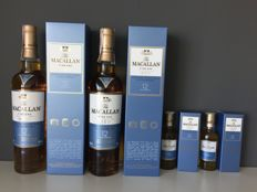 4 bottles - The Macallan 12 Fine Oak - Triple Cask Mature - 2x 500ml + 2x 50ml