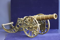 Large Brass Cannon - 1980'
