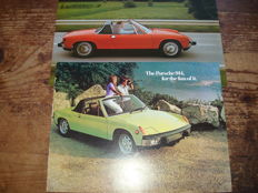 1973 en 1974 Porsche 914, plus Porsche Family tree