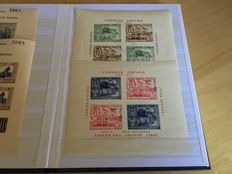 Spain 1936/1939 Civil War – Collection of stamps and sheets