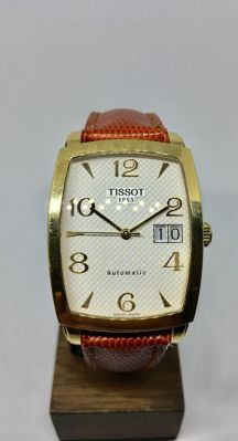 Tissot - Tissot Men's Sculpture 18K - T71.3.633.34 - For men - 2000 - 2010