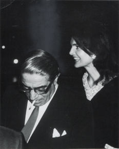 Ron Galella (1931-) - Jackie Kennedy and Aristotle Onassis - 1969
