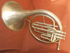Musical instrument Horn Belgian army WW2