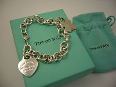 "Tiffany & Co. - ""Return to Tiffany"" Pulsera Plata 925 - medida 19 cm"