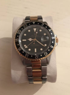 Rolex GMT Master 2 – Steel/gold – Ref.: 16713 serial L – Men's watch