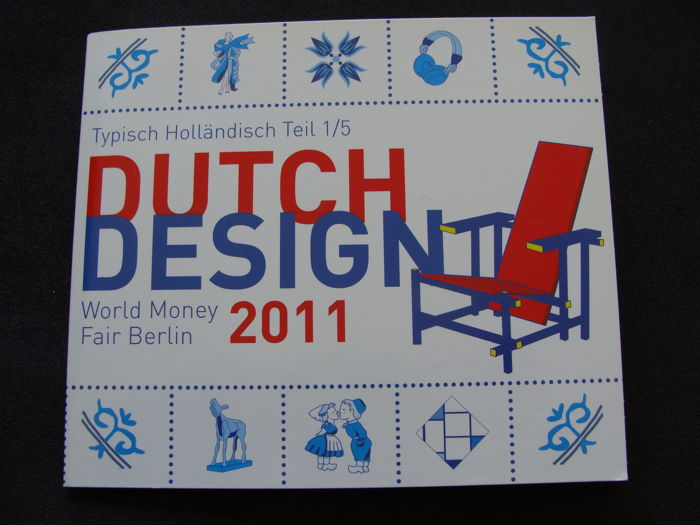 The Netherlands – Year pack 2011 'WMF Berlin Dutch Design' in blister