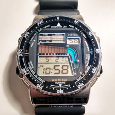 Citizen, D-120 Pro Master Windsurfer, men's watch, 1988