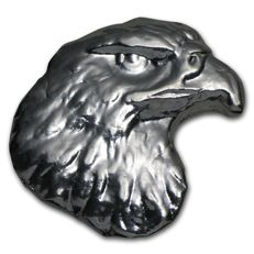 USA 1troz 999 silver bullion Eagle Head