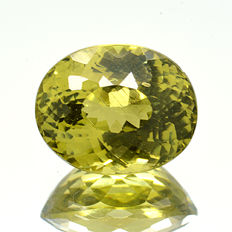 Green-yellow Mali garnet – 1.49 ct.